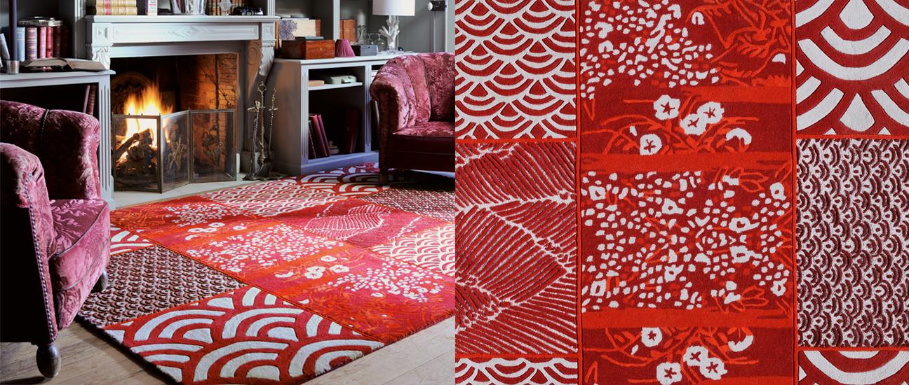 tapis osaka design florence bourel pour toulemonde bochart. Black Bedroom Furniture Sets. Home Design Ideas