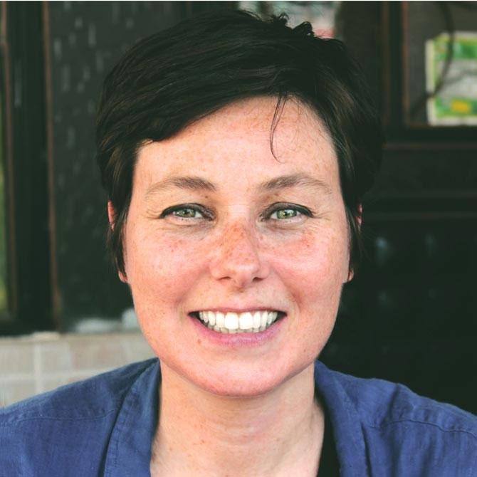 Portrait de Florence Bourel, designer. florencebourel.com