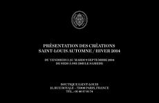 Présentation chez Saint-Louis à Paris