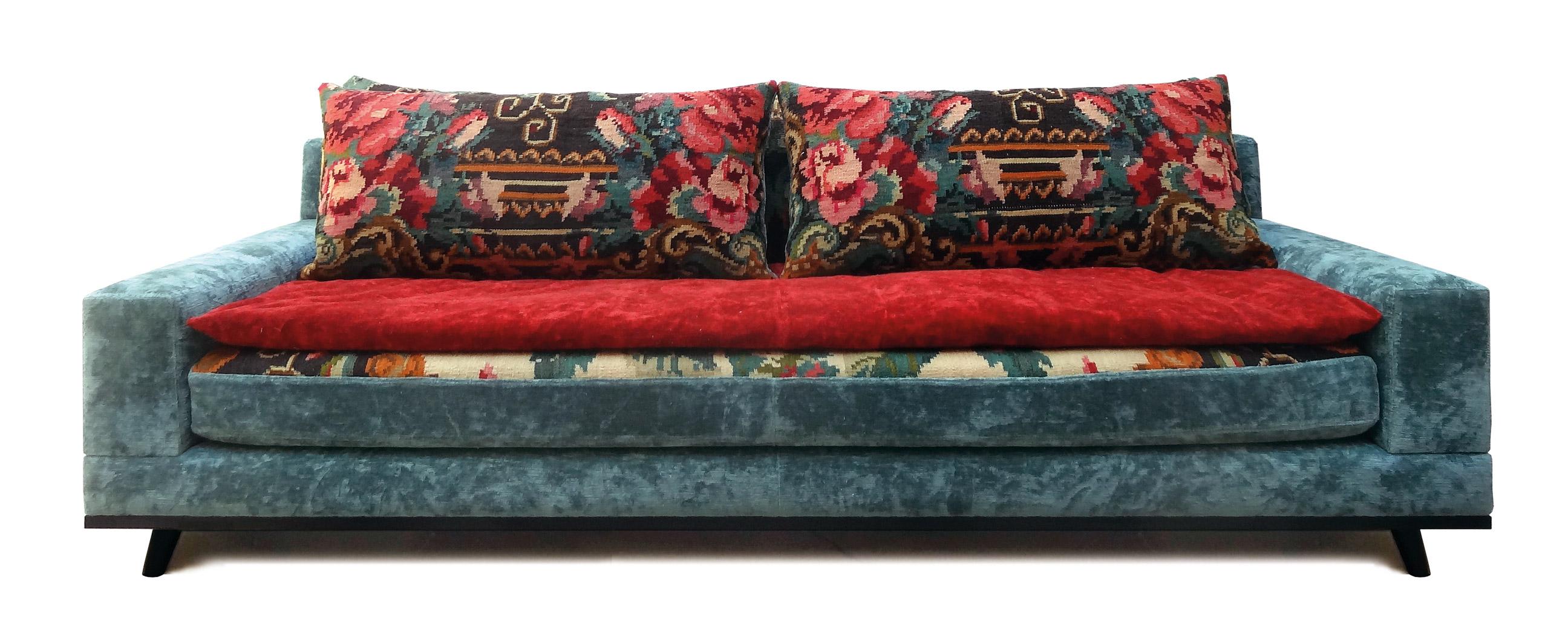 Canap mirleft par florence bourel - Le monde sauvage meubles ...